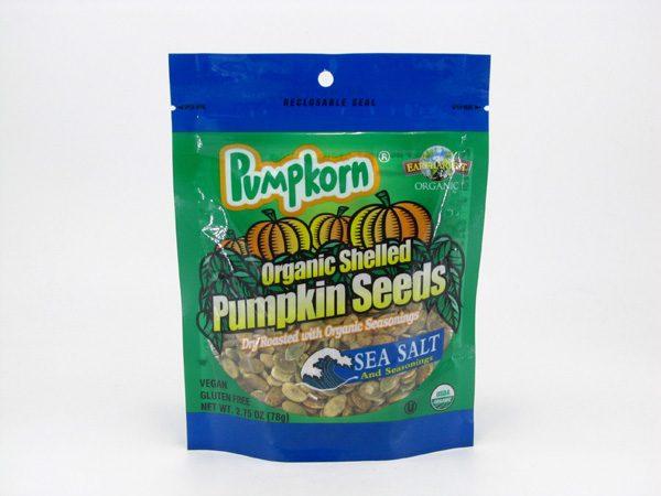 Pumpkorn Pumpkin Seeds - Sea Salt - front view