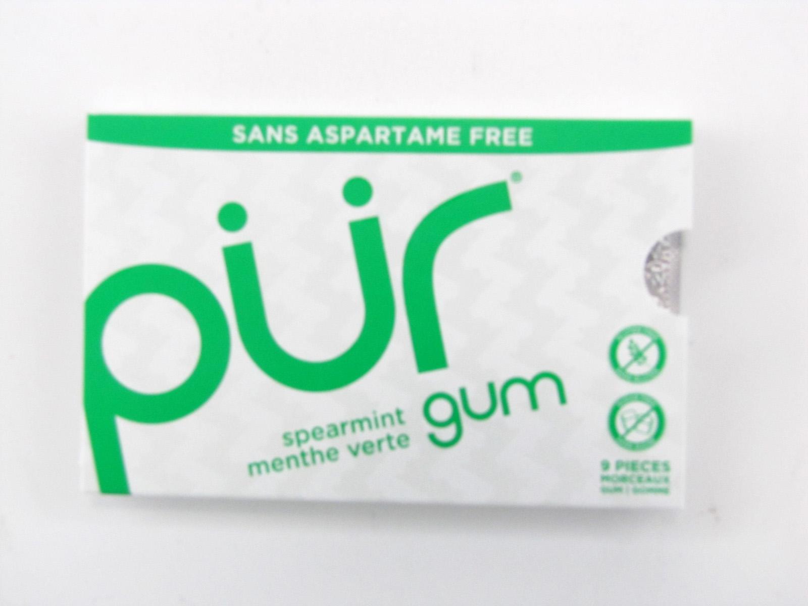 Pur Gum - Spearmint - front view