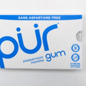 Pur Gum - Peppermint - front view