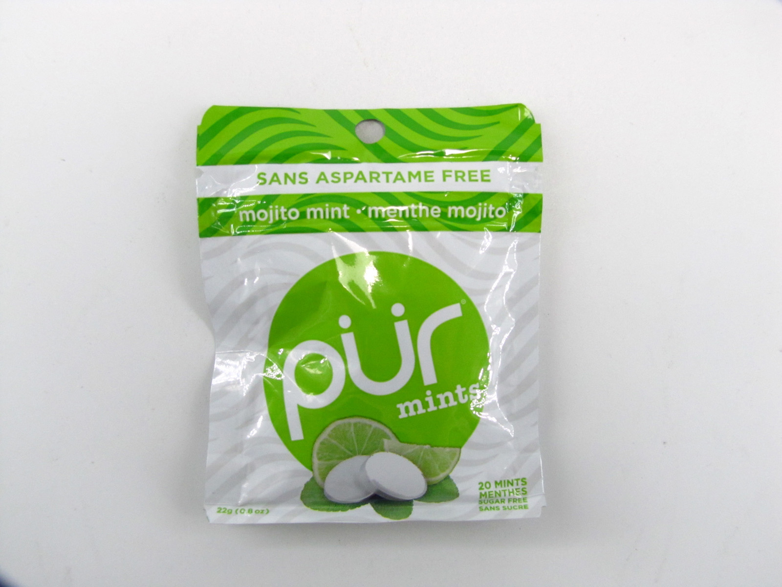 Pur Mints - Mojito Lime Mint - front view