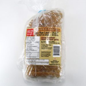 Power Flax - Rye Loaf Bread - front view