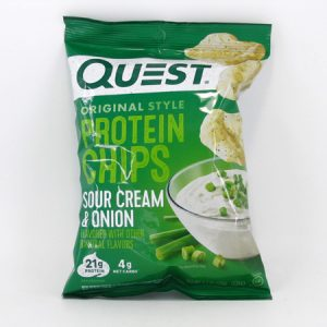 Quest Protein Chips - Sour Cream & Onion - front view