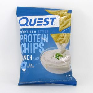 Quest Protein Chips - Ranch - front view