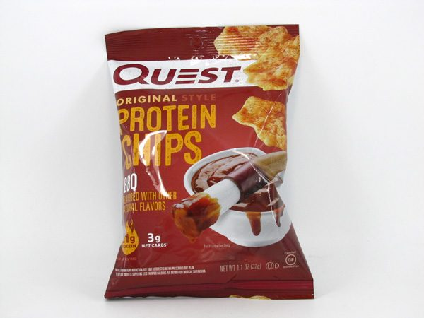 Quest Protein Chips - BBQ - front view