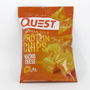 Quest Protein Chips - Nacho Cheese - front view