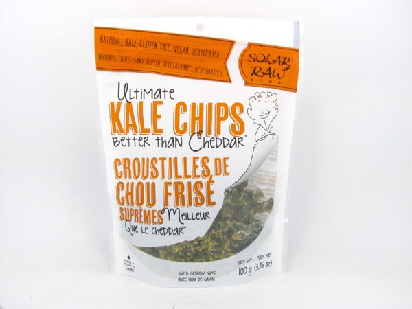 Kale Chips - Cheddar - front view