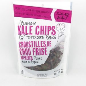 Kale Chips - Red Peppercorn Ranch - front view