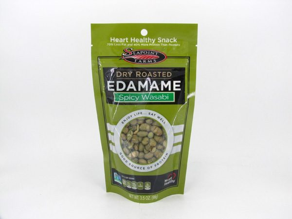 Dry Roasted Edamame - Spicy Wasabi - front view