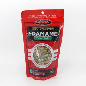 Dry Roasted Edamame - Sea Salt - front view
