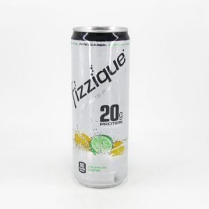 Fizzique Sparkling Protein Water - Tropical Limon - front view