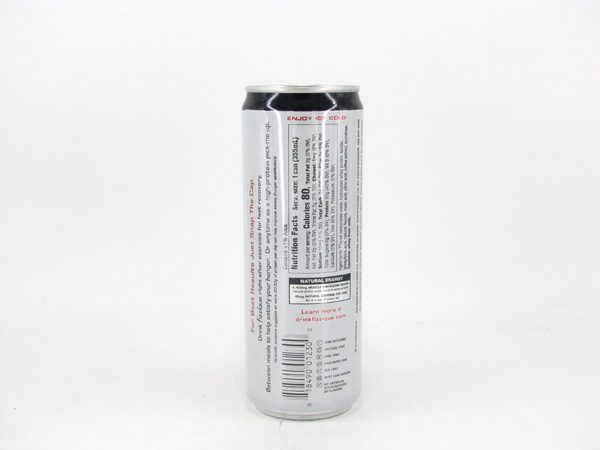 Fizzique Sparkling Protein Water - Strawberry Watermelon - back view
