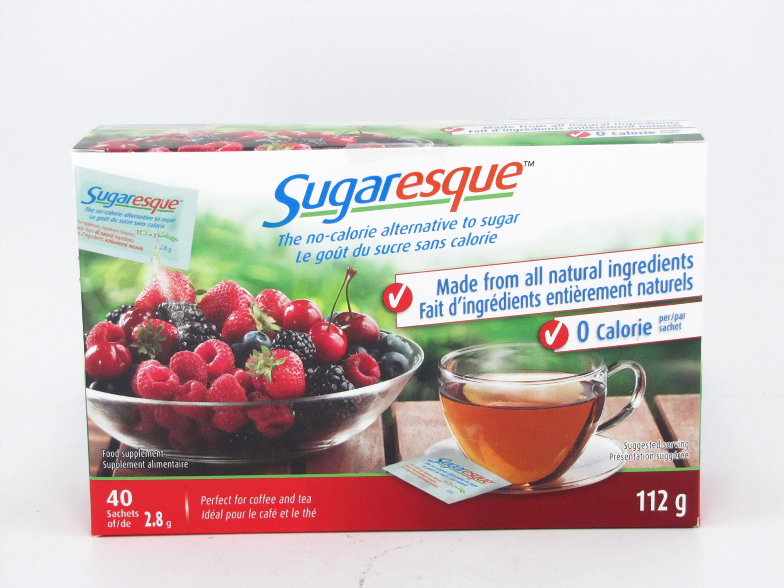Sugaresque 112 g - front view