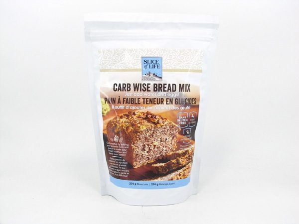 Slice of Life - Carb Wise Bread Mix - front view