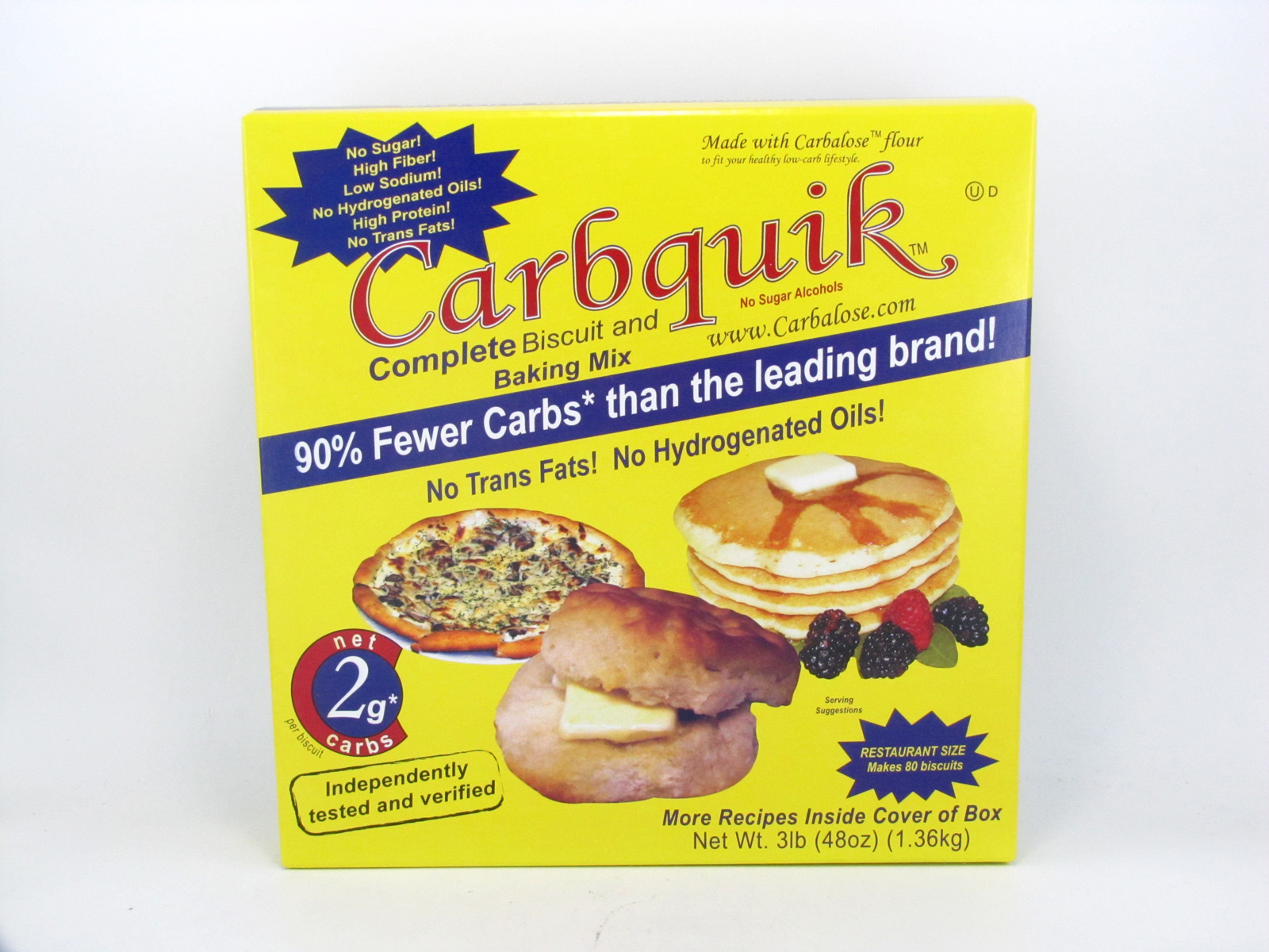 Carbquik - Complete Biscuit and Baking Mix - front view