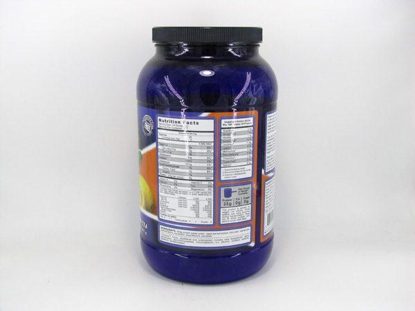 Syntrax Nectar Whey Protein Isolate - Lemon Tea - back view
