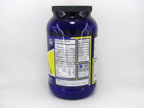 Syntrax Nectar Whey Protein Isolate - Caribbean Cooler - back view