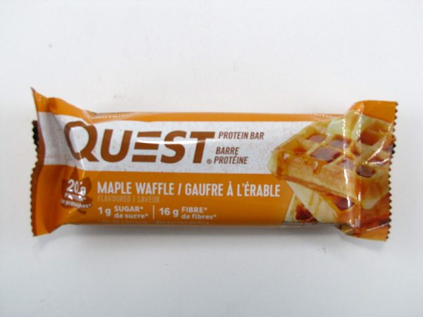Quest Protein Bar - Maple Waffle - front view