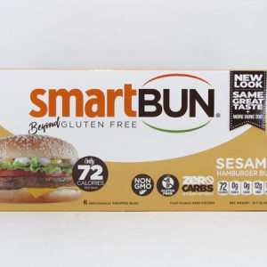 Smart Bun - Sesame Box of 6 - front view