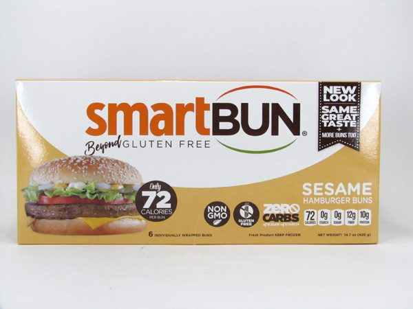 Smart Bun - Sesame Box of 6 - front view