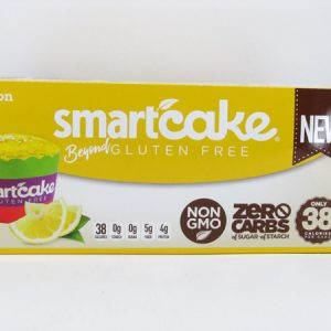 Smart Cake - Lemon Box of 8 - front view