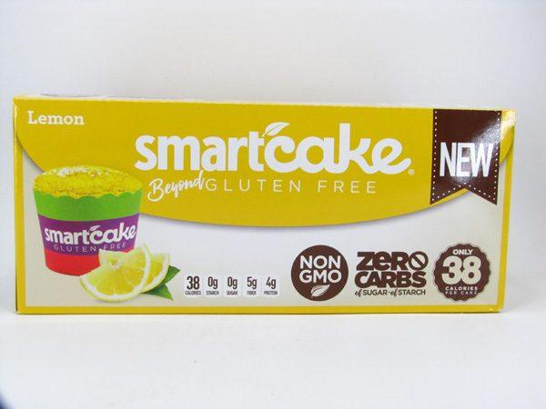 Smart Cake - Lemon Box of 8 - front view