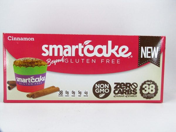 Smart Cake - Cinnamon Box of 8 - front view