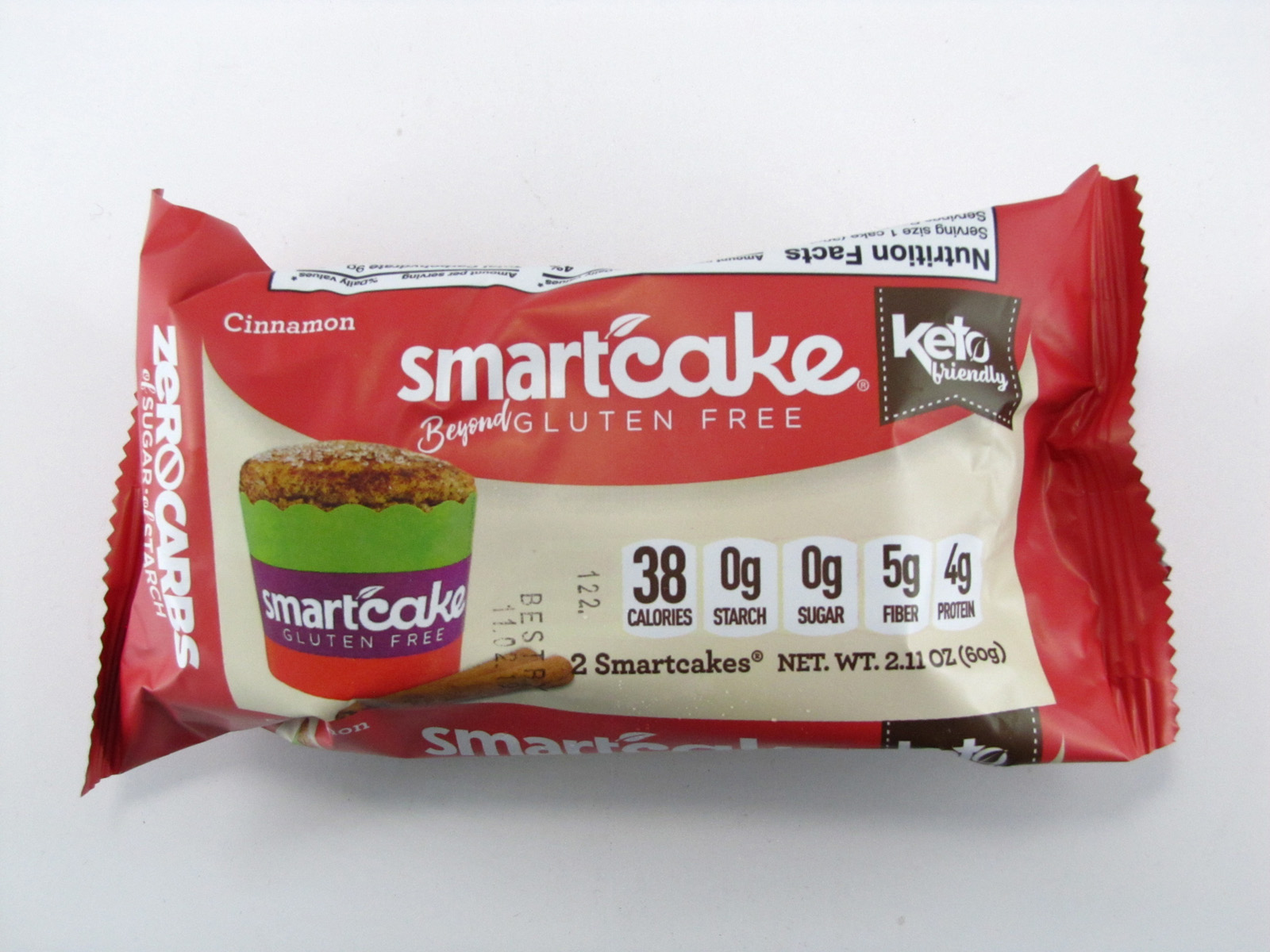 Smart Cake - Cinnamon - front view