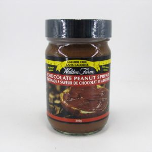 Waldenfarms Peanut Spread - Chocolate - front view