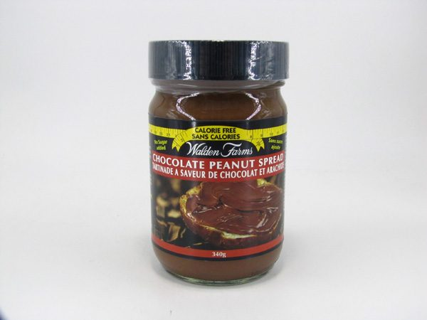 Waldenfarms Peanut Spread - Chocolate - front view