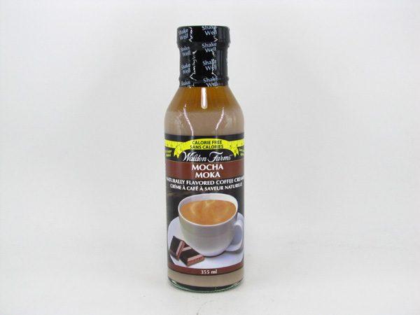 Waldenfarms Coffee Creamer - Mocha - front view