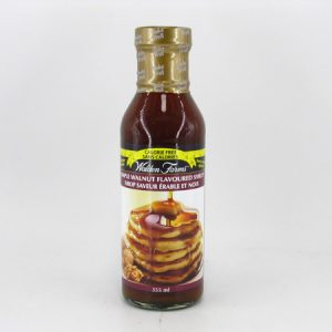 Waldenfarms Syrup - Maple Walnut Flavoured - front view