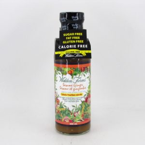 Waldenfarms Salad Dressing - Sesame Ginger - front view
