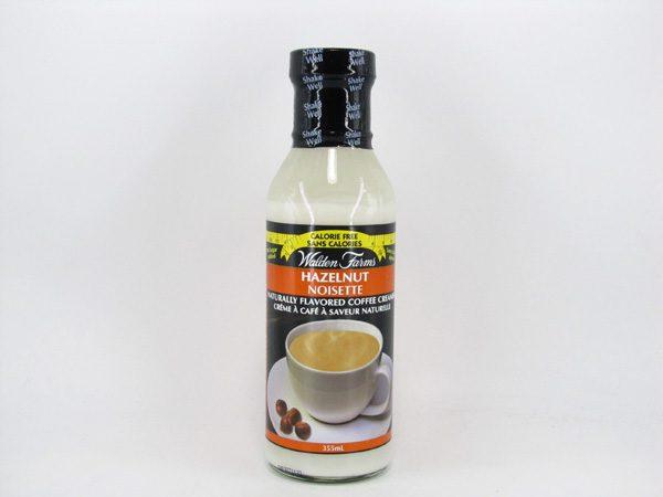Waldenfarms Coffee Creamer - Hazelnut - front view