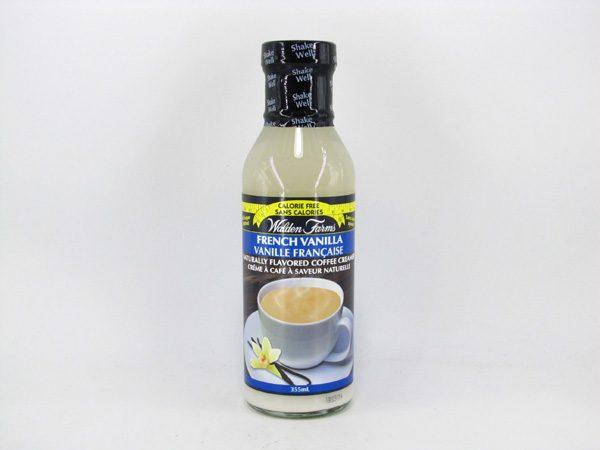 Waldenfarms Coffee Creamer - French Vanilla - front view