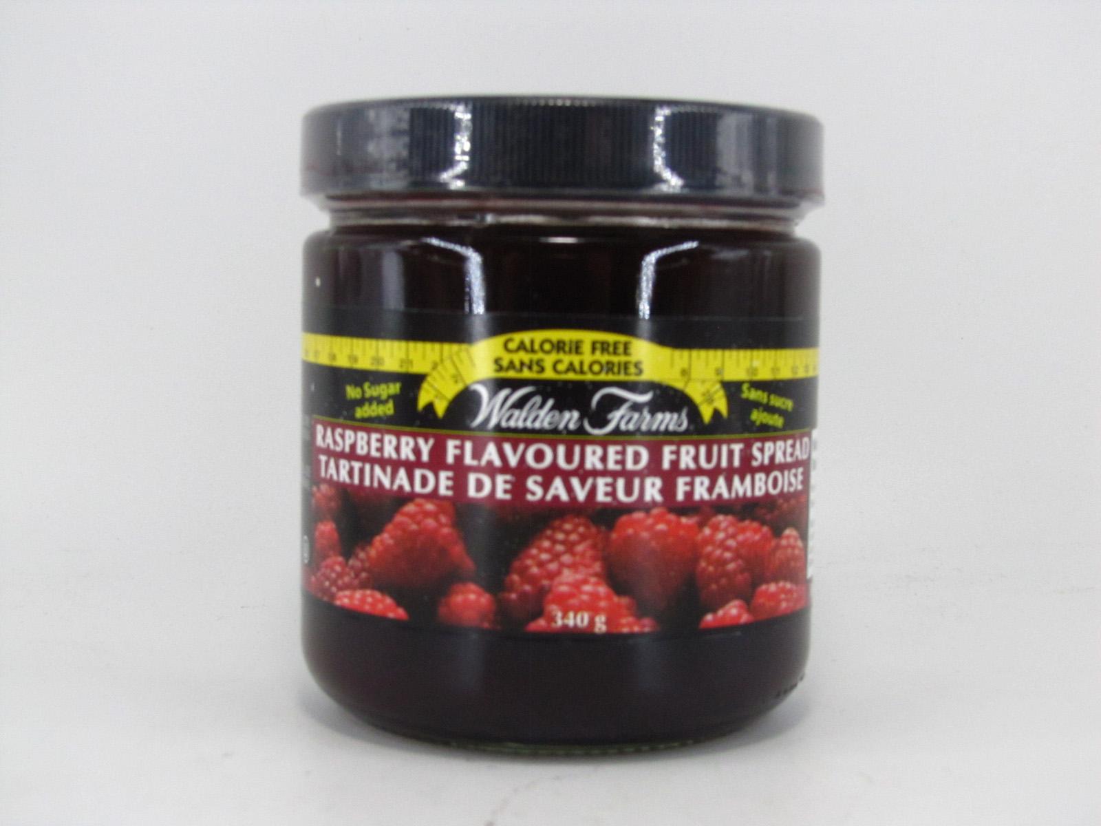 Waldenfarms Fruit Spread - Raspberry - front view