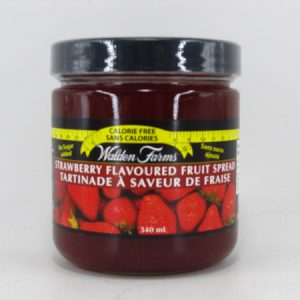 Waldenfarms Fruit Spread - Strawberry - front view