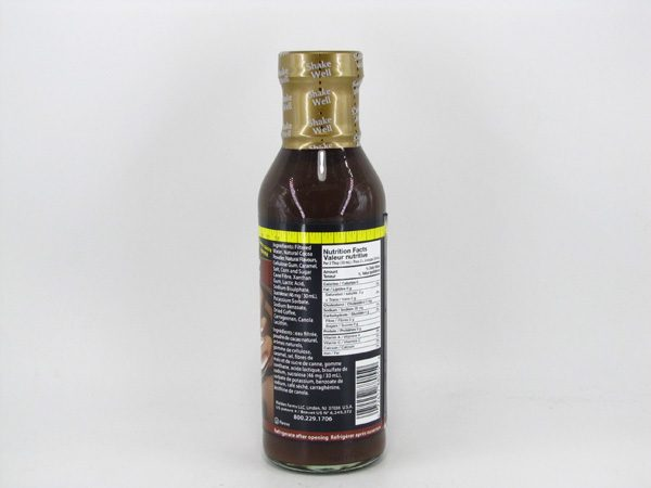 Waldenfarms Syrup - Chocolate - back view