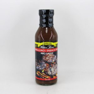 Waldenfarms BBQ Sauce - Thick and Spicy - front view