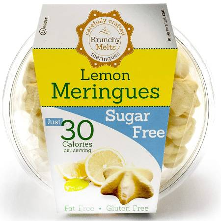 Krunchy Melts Meringues - Lemon