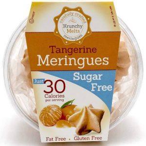 Krunchy Melts Meringues - Tangerine