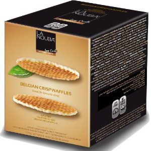 La Nouba No Sugar Added Belgian Crisp Waffles 165g