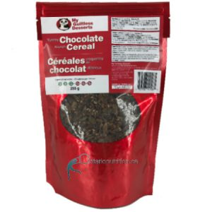 My Guiltless Dessert Yummy Chocolate Krunch Cereal 255g is suitable for phase 1 and 2. My Guiltless Dessert Yummy Chocolate Krunch Cereal  Are: LOW CARB NON GMO SOY FREE DAIRY FREE KETOGENIC, PALEO AND DIABETIC FRIENDLY