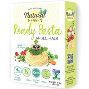 Natural Heaven Veggie Pasta Noodles Angel Hair 255g is suitable for phase 1 and 2.