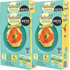 Natural Heaven Veggie Pasta Noodles Spaghetti 255g is suitable for phase 1 and 2