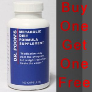 NEW Dr. Poon's Metabolic Diet Supplements - 100 capsules