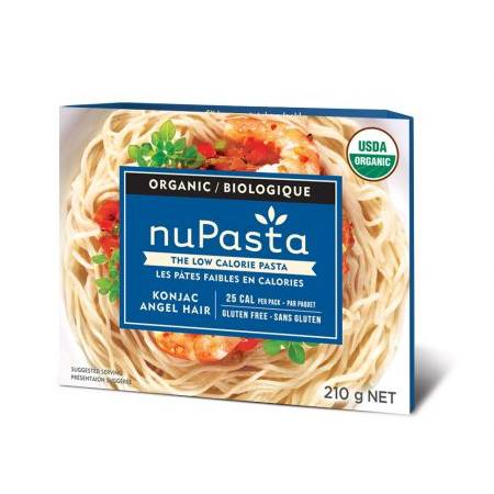 NuPasta Organic Konjac - Angel Hair Case of 8 Packs