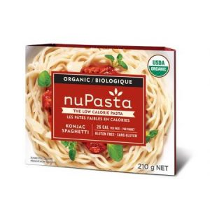 NuPasta Organic Konjac - Spaghetti Case of 8 Packs