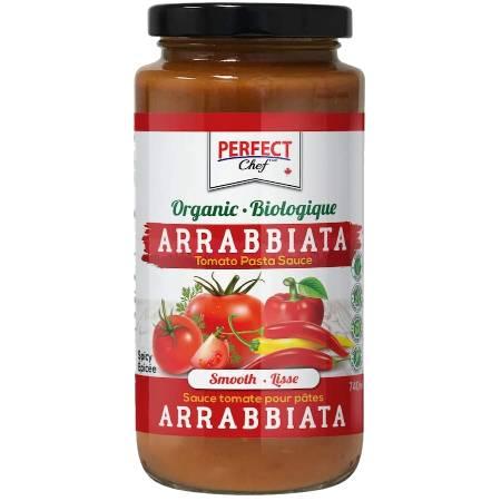 Perfect Chef Organic Arrabbiata Pasta Sauce 740ml