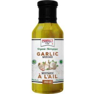 Perfect Chef Organic Garlic Mustard 350ml