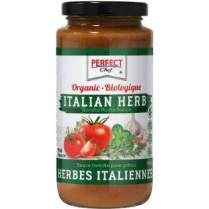 Perfect Chef Organic Italian Herb Pasta Sauce 740ml
